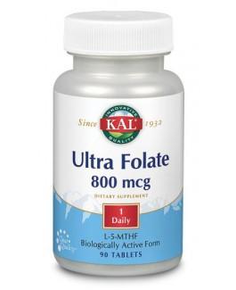 Ultra Folate 800 mcg (L-5-MTHF)